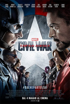 Captain America: Civil War in 3D - (2 spettacoli)