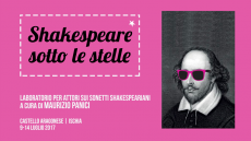 Shakespeare sotto le stelle
