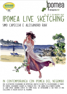 Ipomea del Negombo 2017 - Ipomea Live Sketching