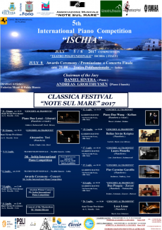 5th Ischia International Piano Competition