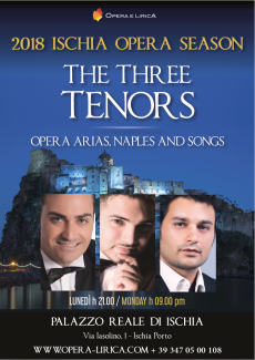 2018 Ischia Opera Season - The Three Tenors