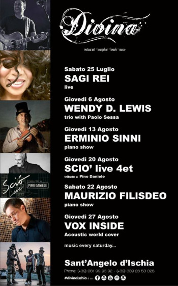 Al Divina - Wendy D Lewis Trio with Paolo Sessa