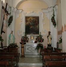 Interno Chiesa di S.Francesco Saverio Loc. Cuotto Ischia